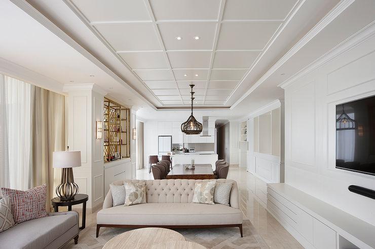 Senopati Suites Apartment High Street Ruang Keluarga Klasik