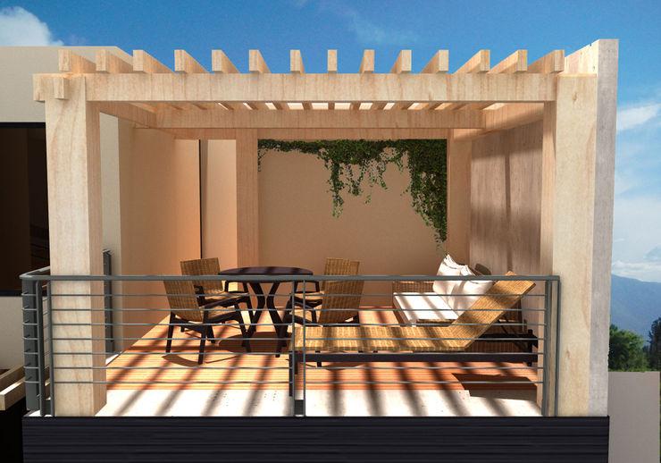 homify Balcones y terrazas modernos