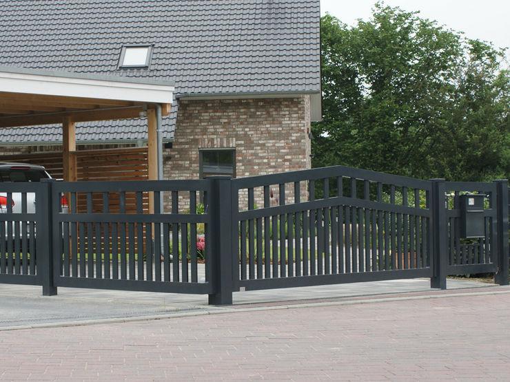 Nordzaun Front garden Aluminium/Zinc Grey