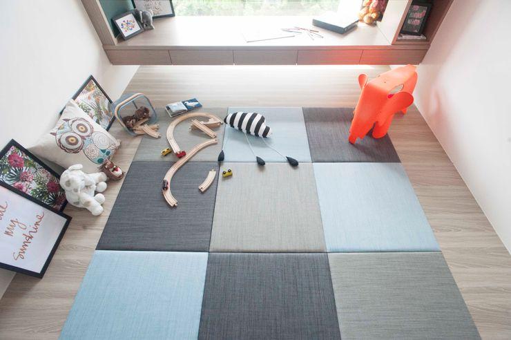舒適機能空間 鈊楹室內裝修設計股份有限公司 嬰兒房/兒童房