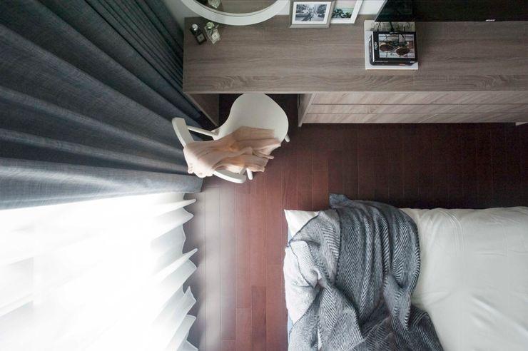 鈊楹室內裝修設計股份有限公司 Modern style bedroom