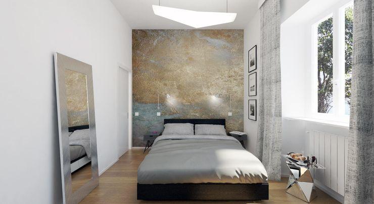 TIBURTINO II ULA architects Camera da letto moderna