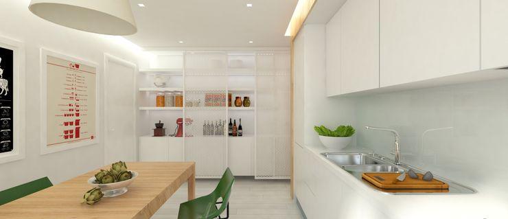 MARINA ULA architects Cucina moderna