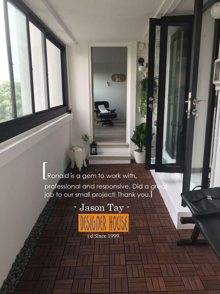 Designer House Balcones y terrazasAccesorios y decoración Aluminio/Cinc Negro