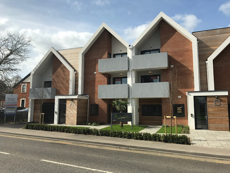 Stowe Apartments, Bourne End Alex D Architects Limited Modern Houses