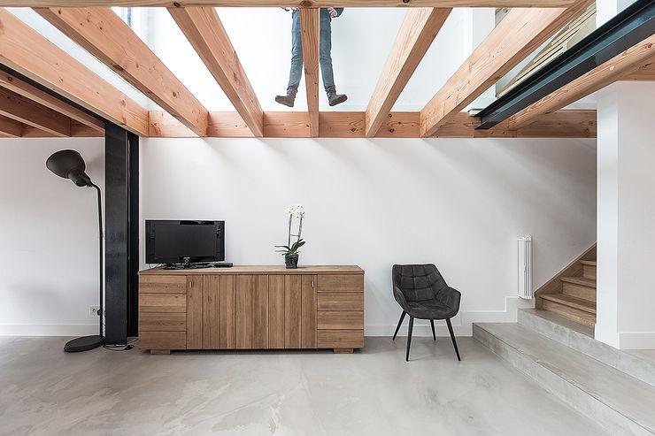Bloot Architecture Modern kitchen Concrete