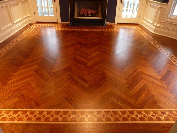 Brazilian Cherry Wood Shine Star Flooring Classic style dining room