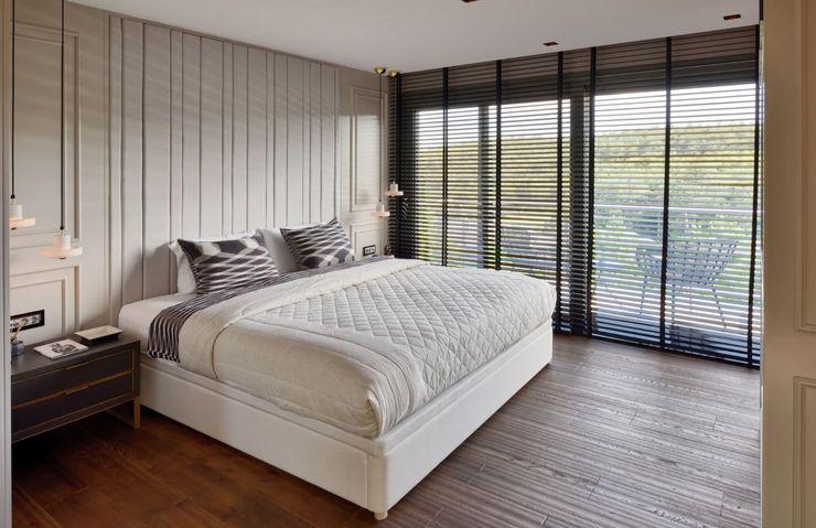 ABA HOUSE Esra Kazmirci Mimarlik Modern style bedroom MDF Green