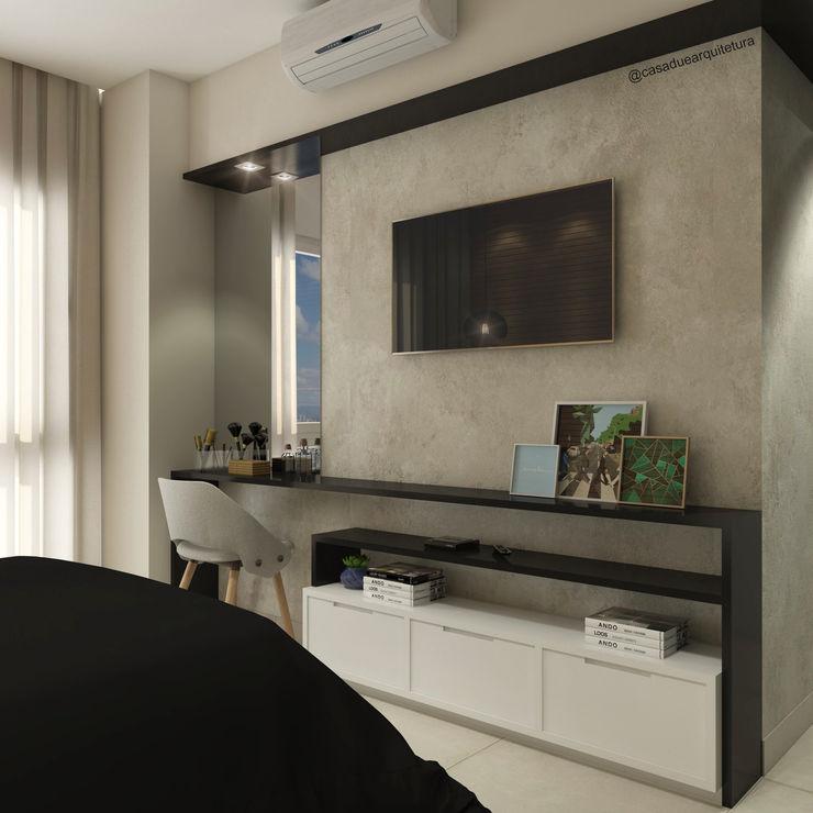 CASA DUE ARQUITETURA Modern style bedroom