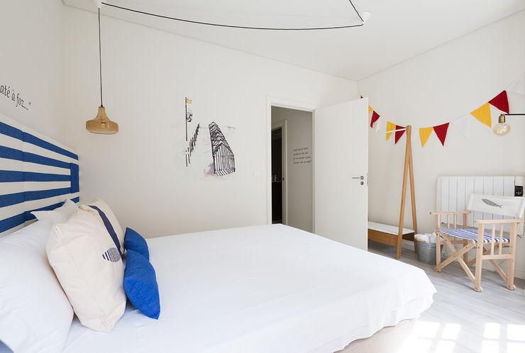 Genuine Oporto Apartments - Alojamento local no centro do Porto ShiStudio Interior Design Quartos escandinavos
