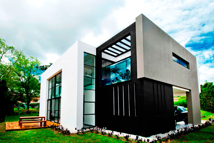 CASA - EL RETIRO ANTIOQUIA - FR ARQUITECTURA S.A.S. Casas modernas