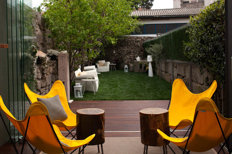 InPorto Gallery Guesthouse - PORTO ShiStudio Interior Design Jardins de fachada