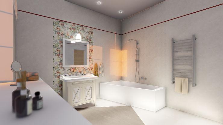 Lela Rink حمام البلاط Beige