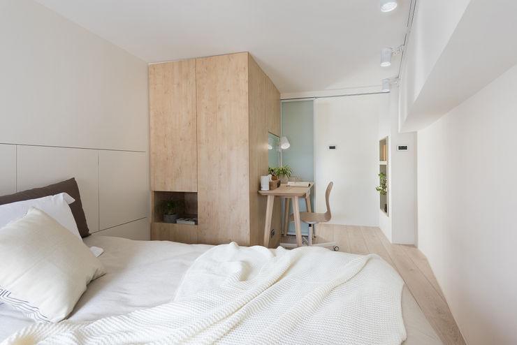 寓子設計 Moderne Schlafzimmer