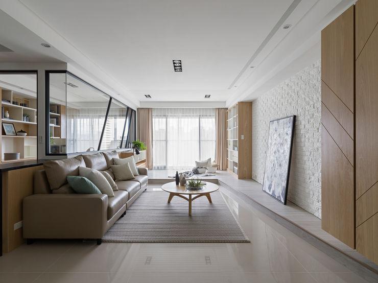 客廳 存果空間設計有限公司 Scandinavian style living room