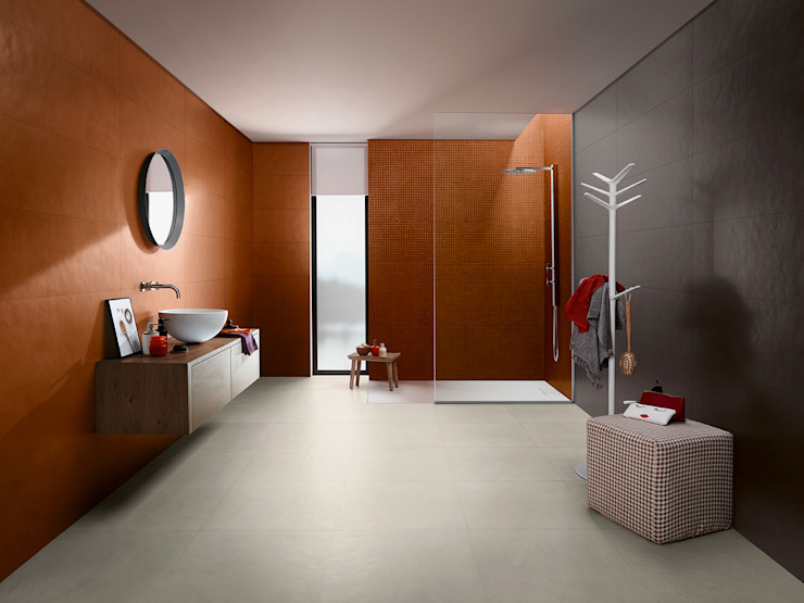 Splash Love Tiles Baños de estilo industrial