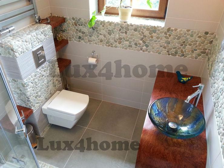 Bathroom wall pebble tiles homify Classic style bathroom