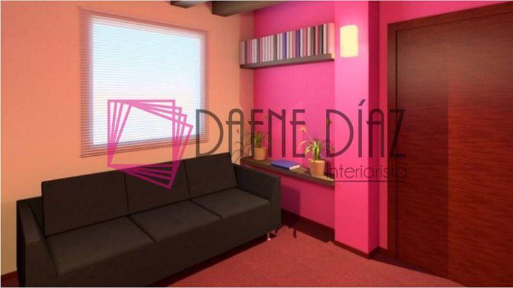 Dafne Diaz Interiorista Modern clinics Pink