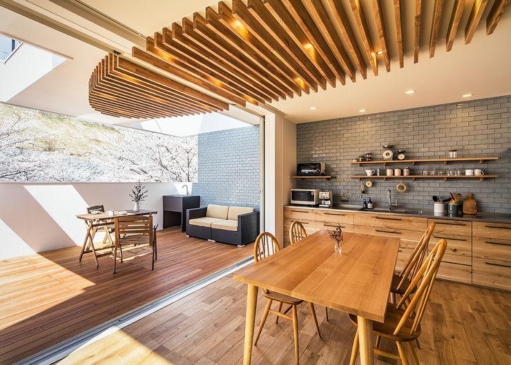株式会社seki.design 现代客厅設計點子、靈感 & 圖片