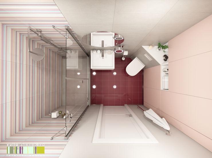 Хрусталь и глянец Мастерская интерьера Юлии Шевелевой Ванная комната в эклектичном стиле