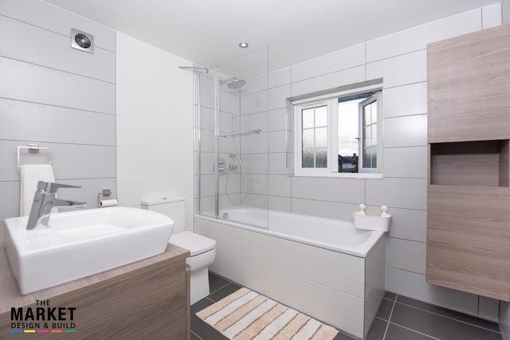 Isleworth House Loft & Rear Extension The Market Design & Build Modern bathroom