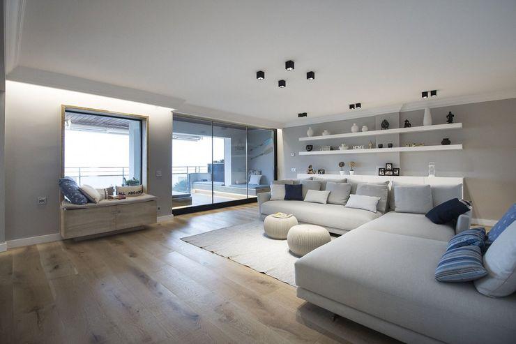 Luxiform Iluminación Modern living room