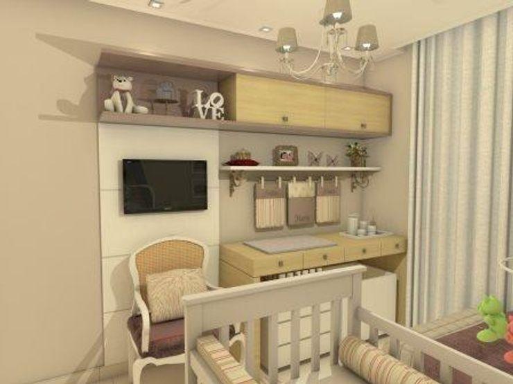 AT arquitetos Baby room