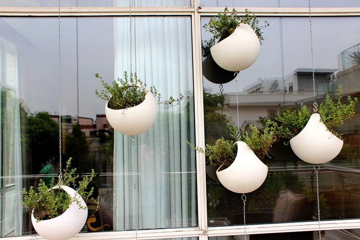 Grecor Balkon, Beranda & Teras Gaya Mediteran White