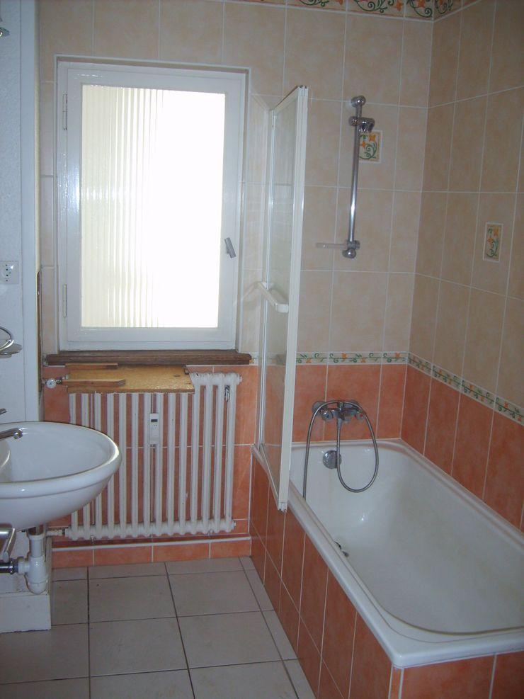 SALLE DE BAINS EXISTANTE Lionel CERTIER - Architecture d'intérieur Salle de bain rustique