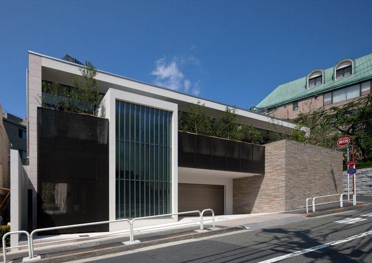 安藤貴昭建築設計事務所 Single family home Stone