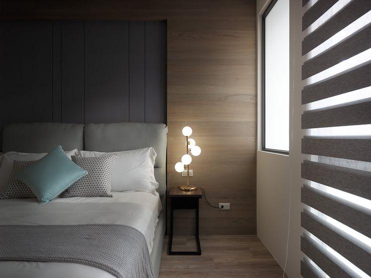 在休閒風設計中傾聽生活、感受溫度 星葉室內裝修有限公司 臥室