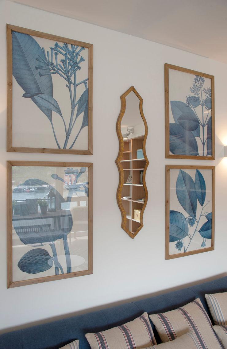 Reforma de piso con vistas Sube Interiorismo Salones de estilo clásico