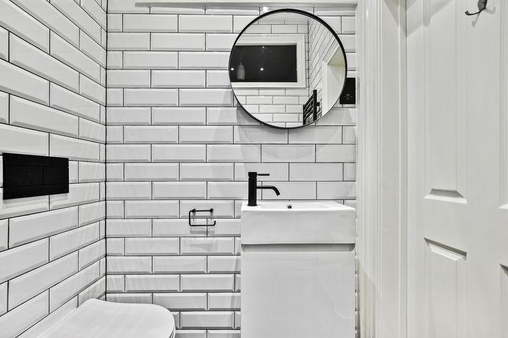 Case Study: Richmond, Surrey BathroomsByDesign Retail Ltd 現代浴室設計點子、靈感&圖片