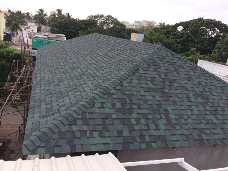 Hunter Green Pro Sri Sai Architectural Products Roof