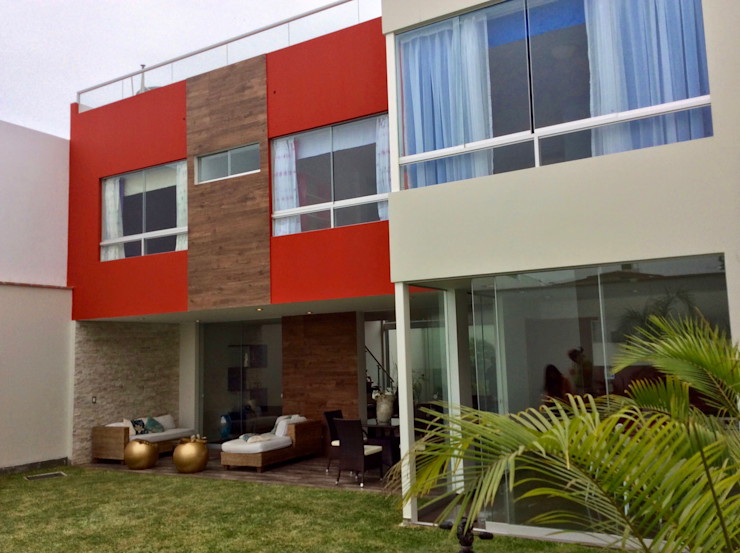 Fachada Interior homify Casas modernas: Ideas, diseños y decoración