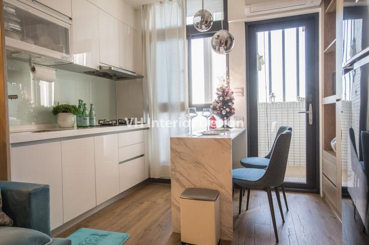 士林黃公館 VH INTERIOR DESIGN 現代廚房設計點子、靈感&圖片