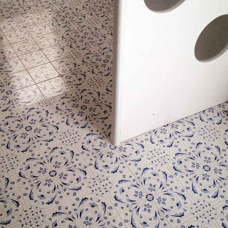 CASA BOTTEGHE COFFICE Pavimento Ceramica Blu