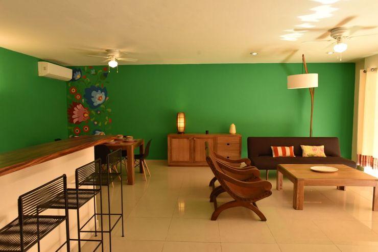 Departamento Los Cabos, Baja California Sur. México Galeria Sofia ComedorAccesorios y decoración Madera
