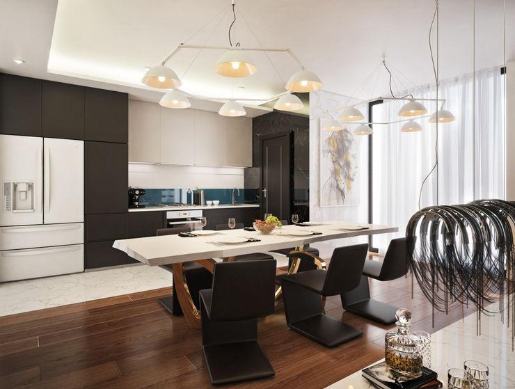 Kitchen Dessiner Interior Architectural Modern style kitchen