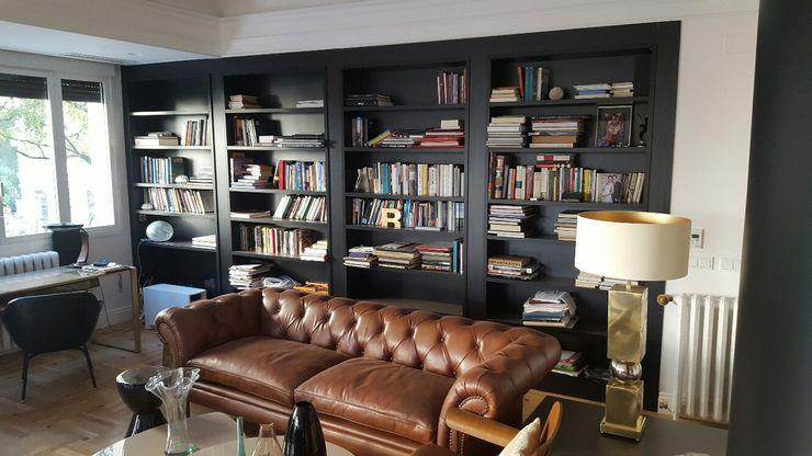 CARE MOBILIARIO MADRID,S.L. Çalışma OdasıDolap & Raflar Ahşap Siyah