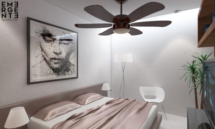 EMERGENTE | Arquitectura Eclectic style bedroom