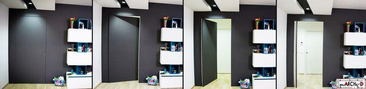 Linea Direttrice Studio ARCH+D Pareti & Pavimenti in stile minimalista