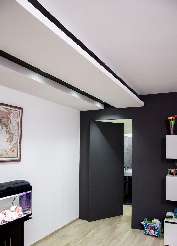 Linea Direttrice Studio ARCH+D Soggiorno minimalista