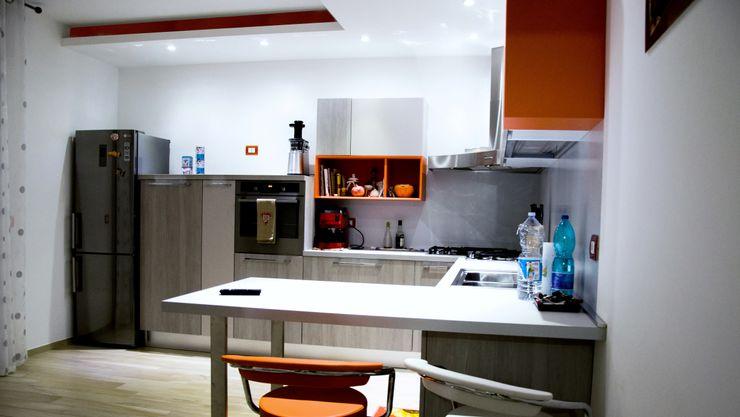 Linea Direttrice Studio ARCH+D Cucina minimalista
