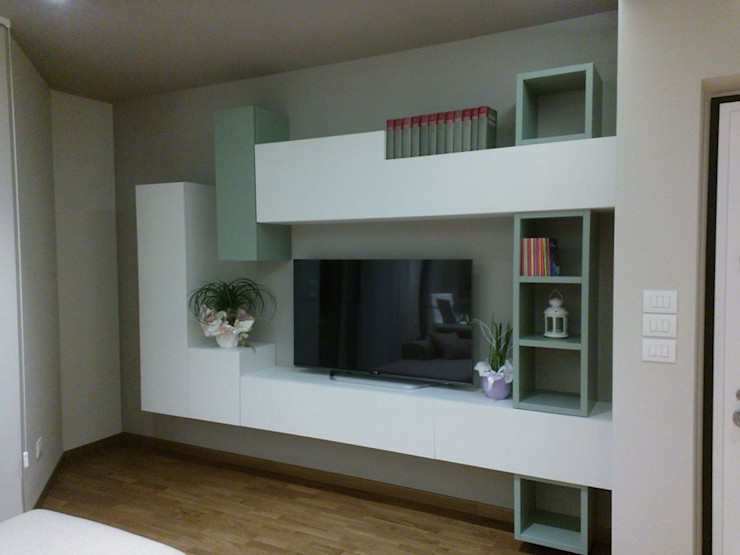 Luce e Design Studio ARCH+D Soggiorno moderno