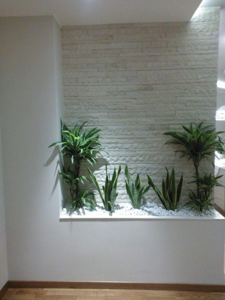 Luce e Design Studio ARCH+D Ingresso, Corridoio & Scale in stile moderno