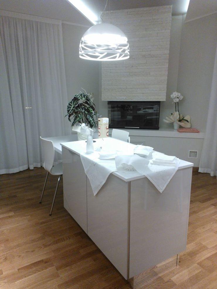 Luce e Design Studio ARCH+D Cucina moderna