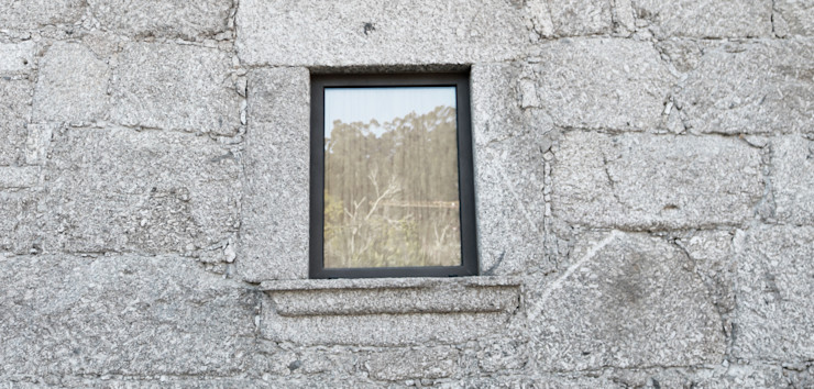 Casa no Gerês Atelier Vyasa Portadas de janela Alumínio/Zinco