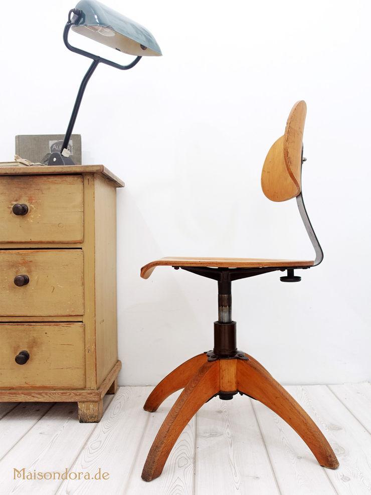 Maisondora Vintage Living Study/officeChairs Wood Brown