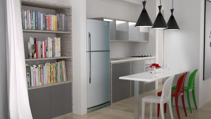 Elizabeth SJ KitchenCabinets & shelves Granit Beige